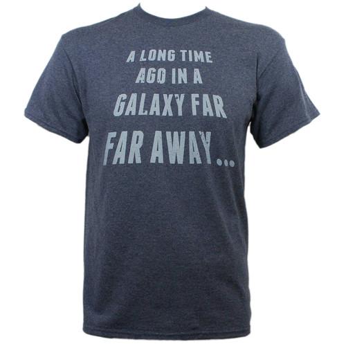 Star Wars T-Shirt - In A Galaxy Far Far Away Opening Lines