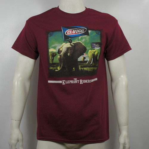 Clutch T-Shirt - The Elephant Riders