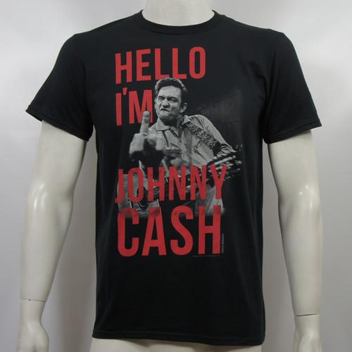 Johnny Cash T-Shirt - Hello I'm Johnny Cash