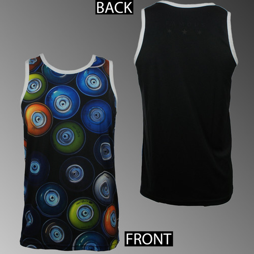 Famous Stars & Straps Jersey Tank Top - Capless Cans