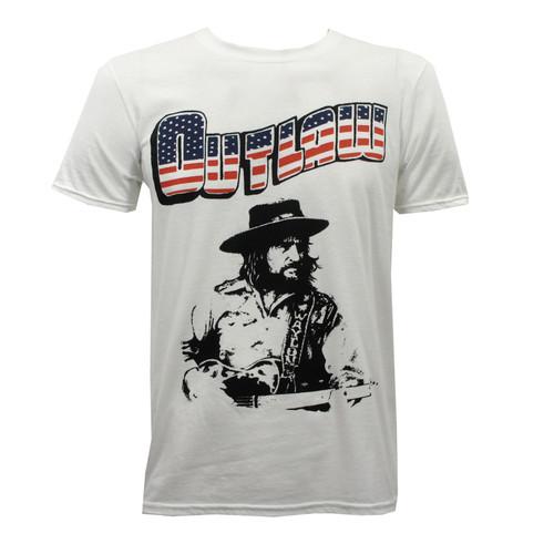 Waylon Jennings Slim Fit T-Shirt - New Outlaw