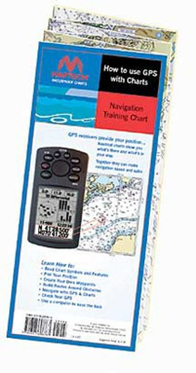 Maptech How to use GPS with Charts - Navigation Training Chart