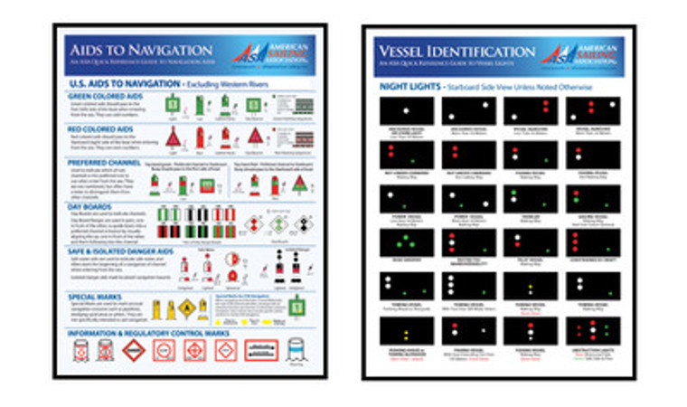 US Aids to Navigation and Vessel Lights at Night