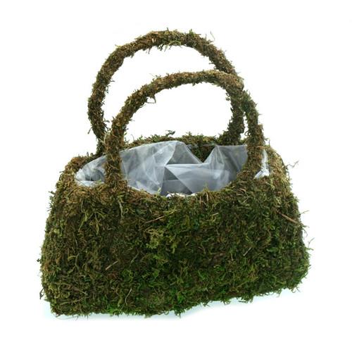 Moss Purse Planter