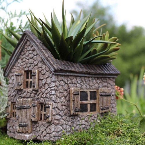 Fairy Garden - Mill House Planter