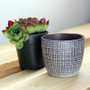 Indoor Corteza Flower Pot 2.75""