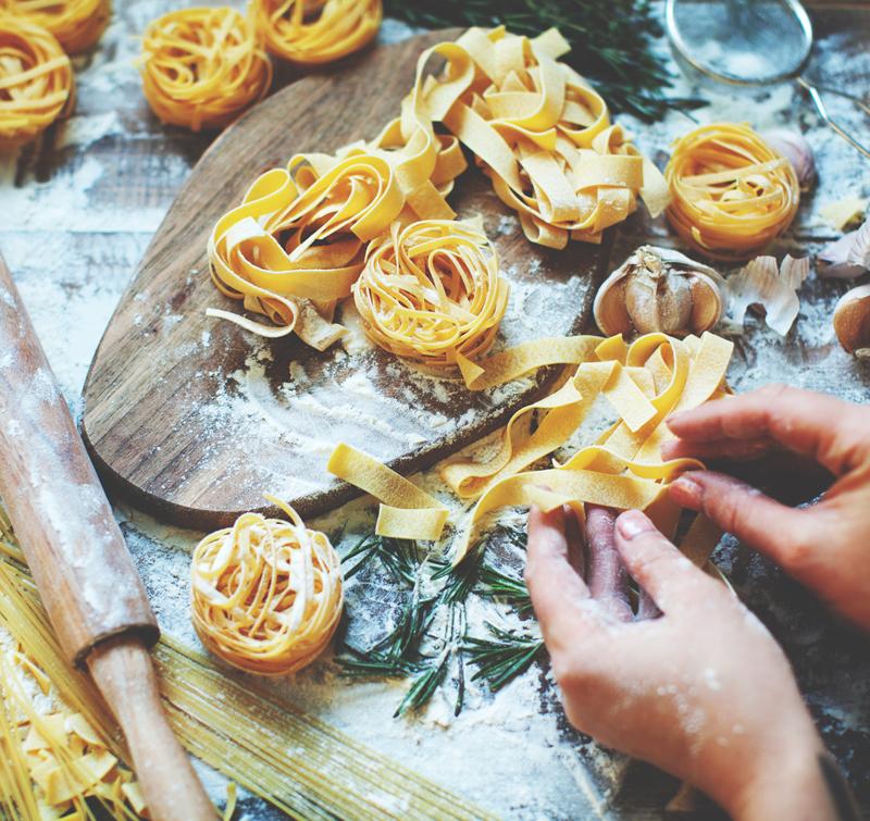 POSTPONED:  ENCORE: Pasta! Pasta! Pasta!: HANDS ON -  Thursday, April 2, 2020 7-9 PM