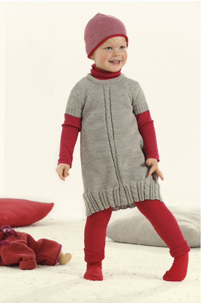 Disana Organic Wool Knitted Dress