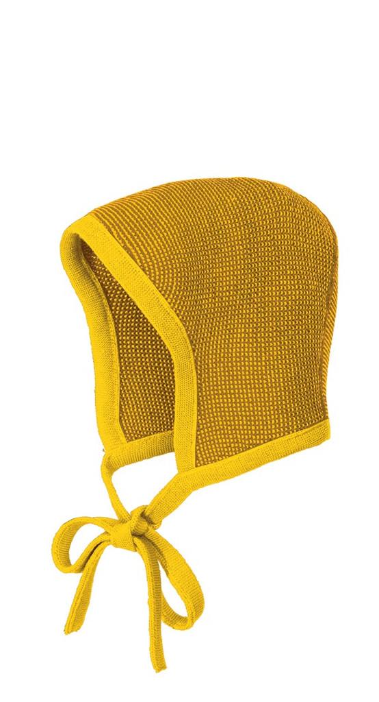 Knitted Melange Bonnet Color: 978 Curry Gold
