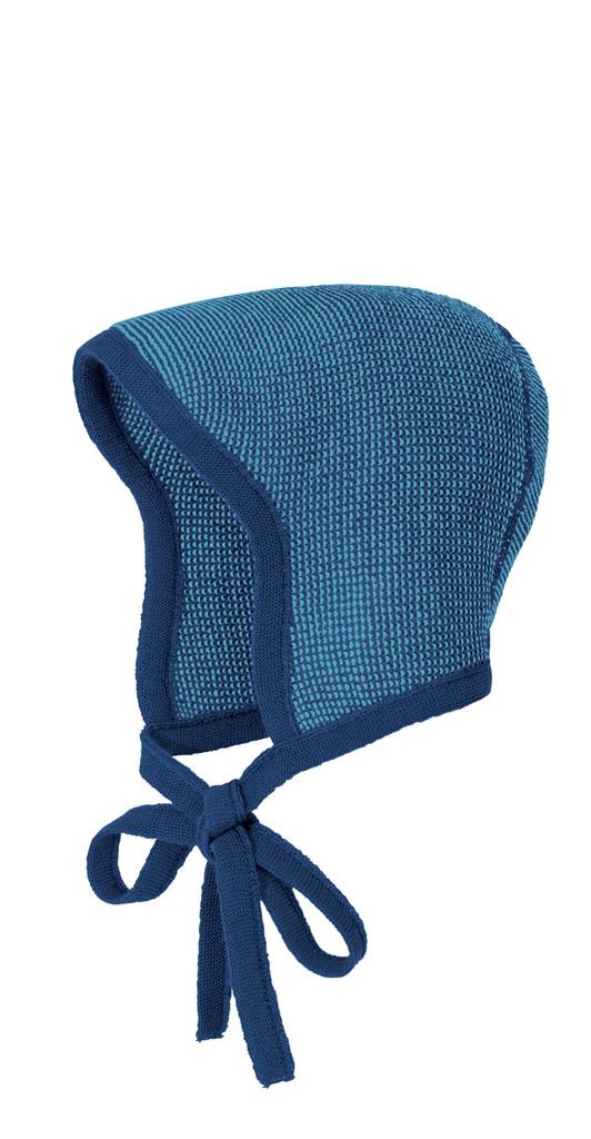 Knitted Melange Bonnet Color: 941 Navy Lagoon