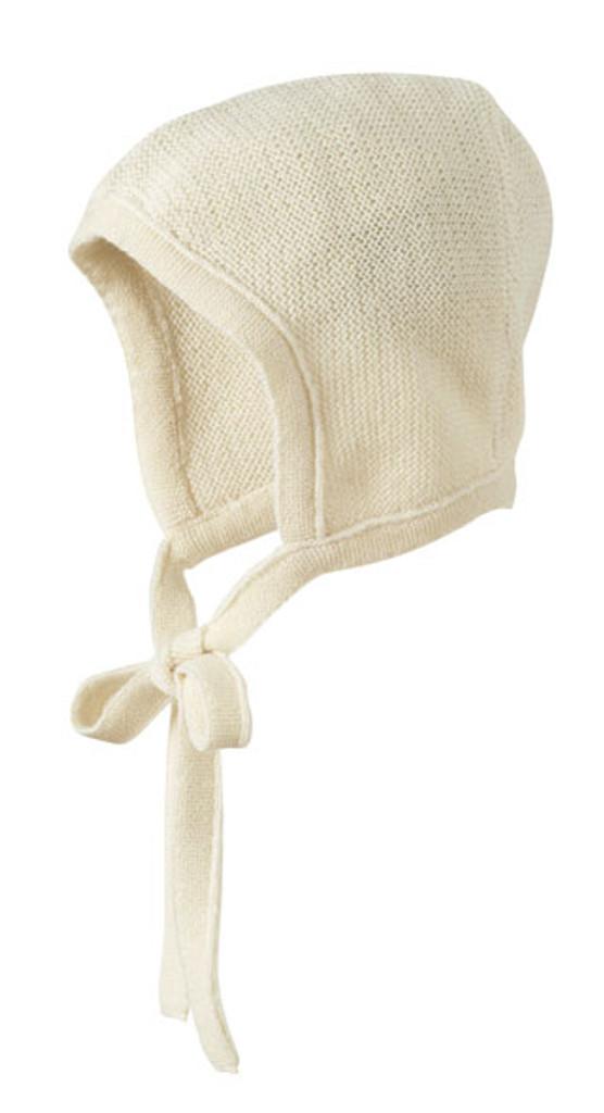 Knitted Melange Bonnet Color: Natural