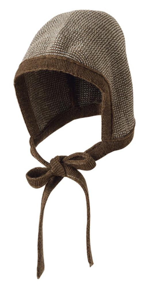 Knitted Melange Bonnet Color: 51 Hazelnut Grey