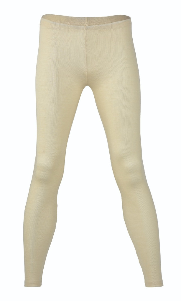 Engel Organic Wool/Silk Women's Leggings Color: Natural