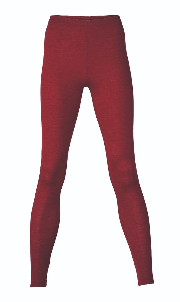 Engel Organic Wool/Silk Women's Leggings Color: malve