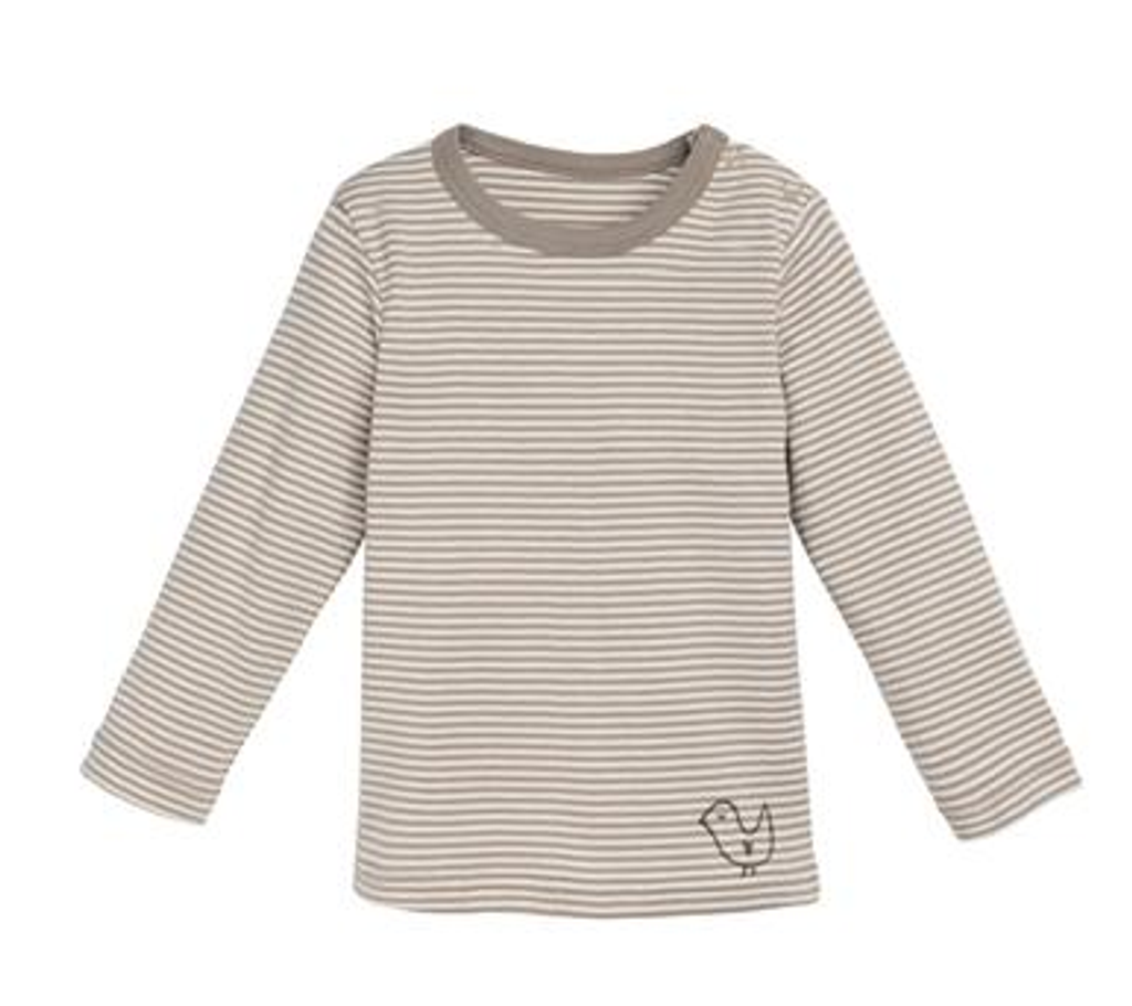 natural/ taupe stripes