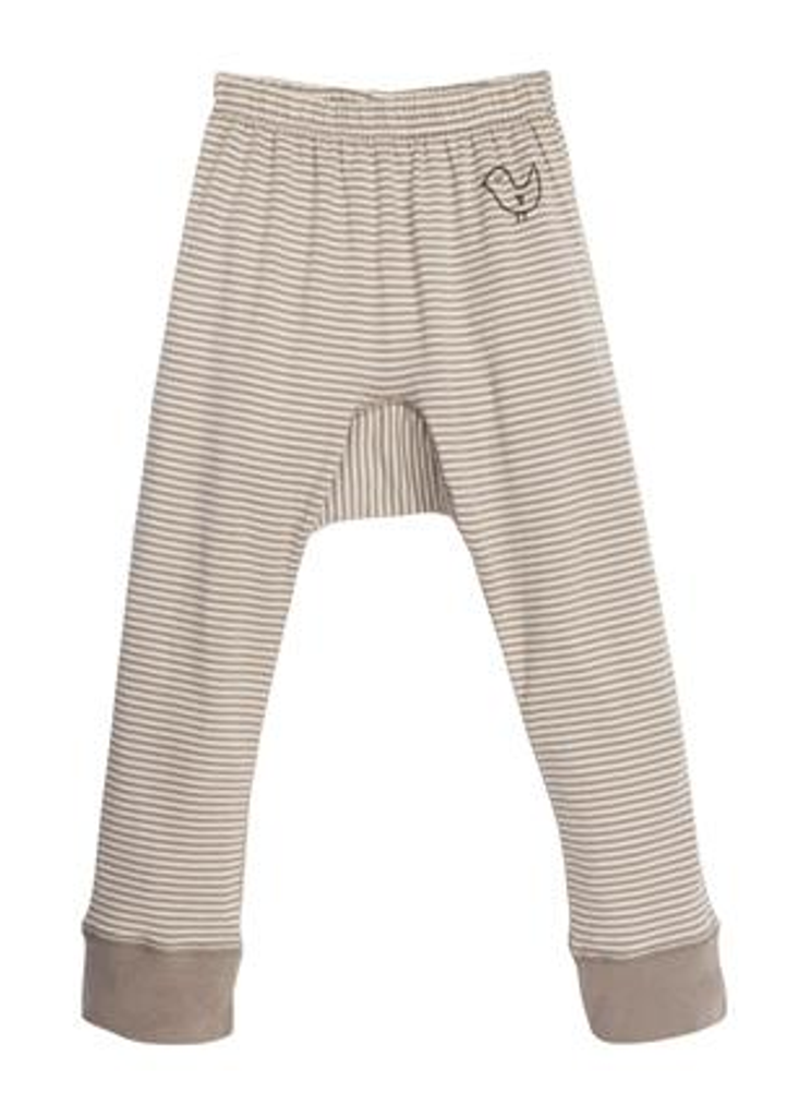 taupe/ natural stripes