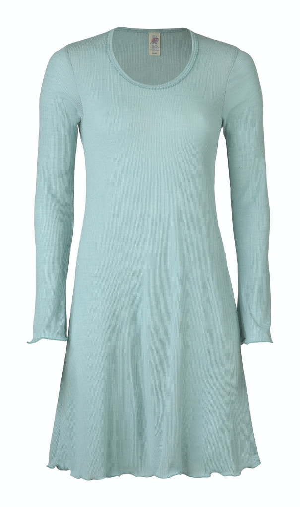 Organic Wool/ Silk Women's Nightgown Color:  gletcher