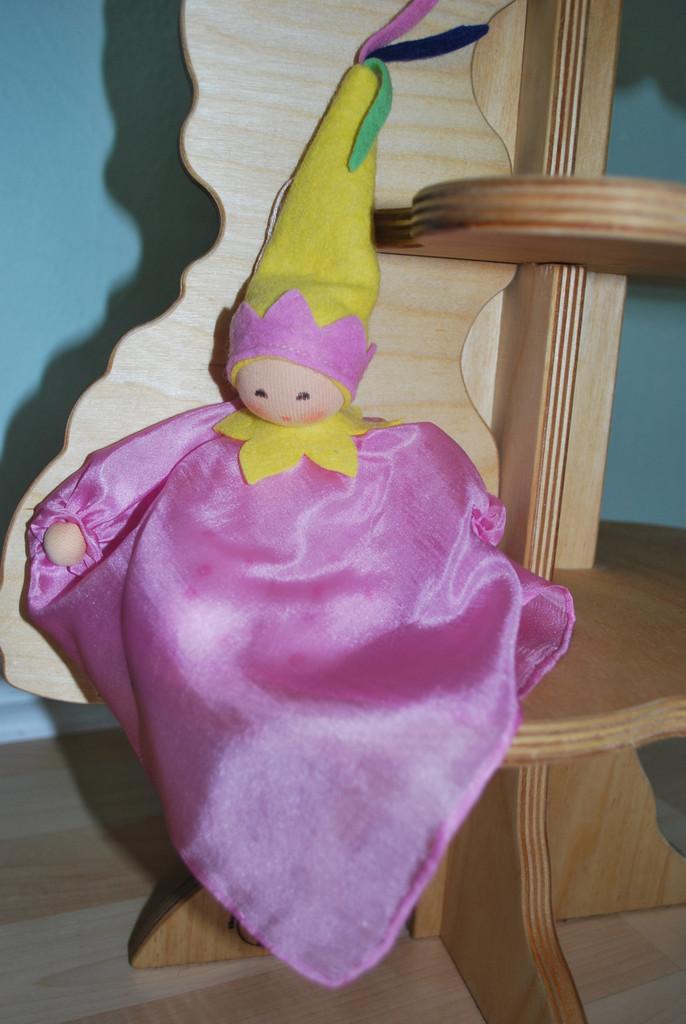 Natural Silk Fairy Doll _ Pink