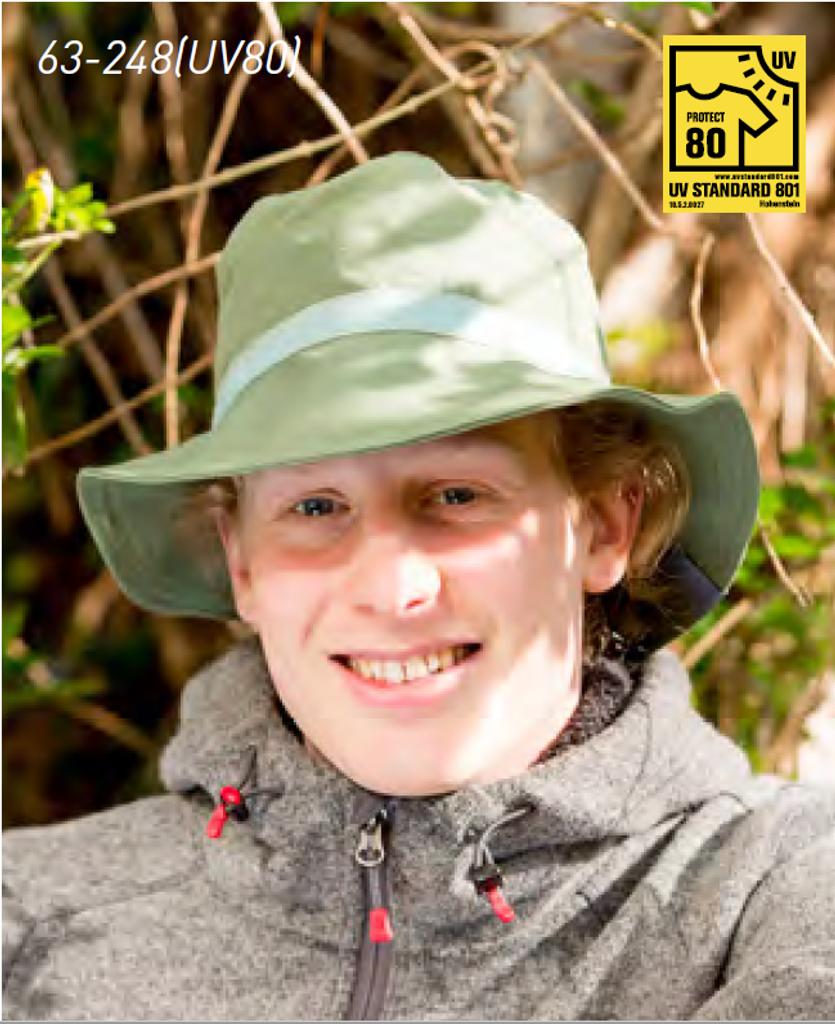 Organic Cotton Sun Hat Color: 248 Oliv