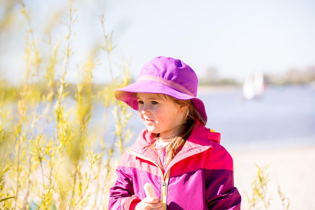 Organic Cotton Sun Hat Color: 264 Lilac (UV80)