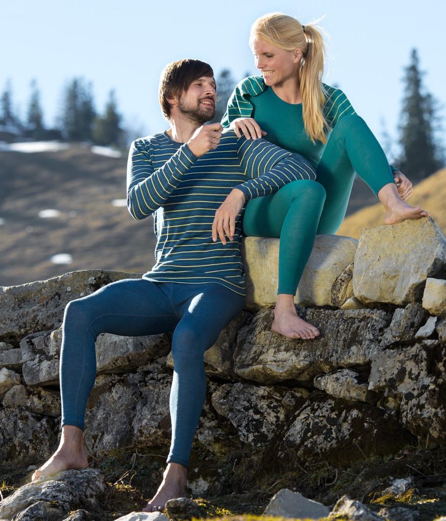 Engel Organic Wool Long Sleeved Shirt - Unisex   Machine Washable Wool