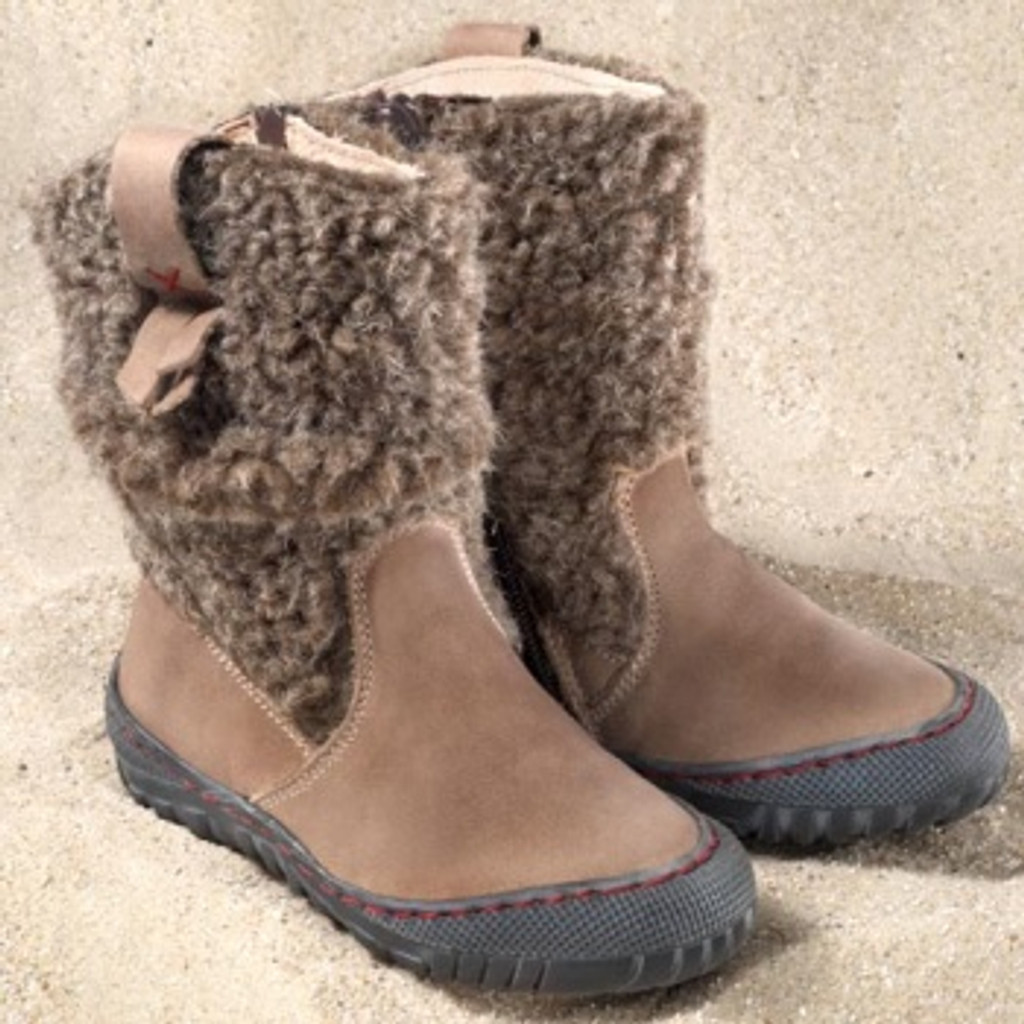 """Natural Leather Winter Boots 
