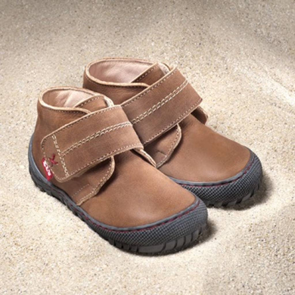 Pololo Natural Leather Shoes Color: amaretto