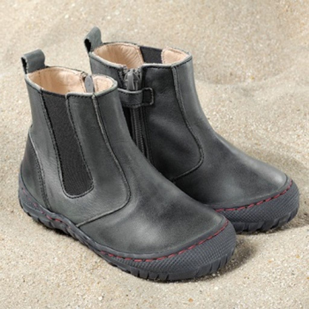 Natural Leather Children's Boots