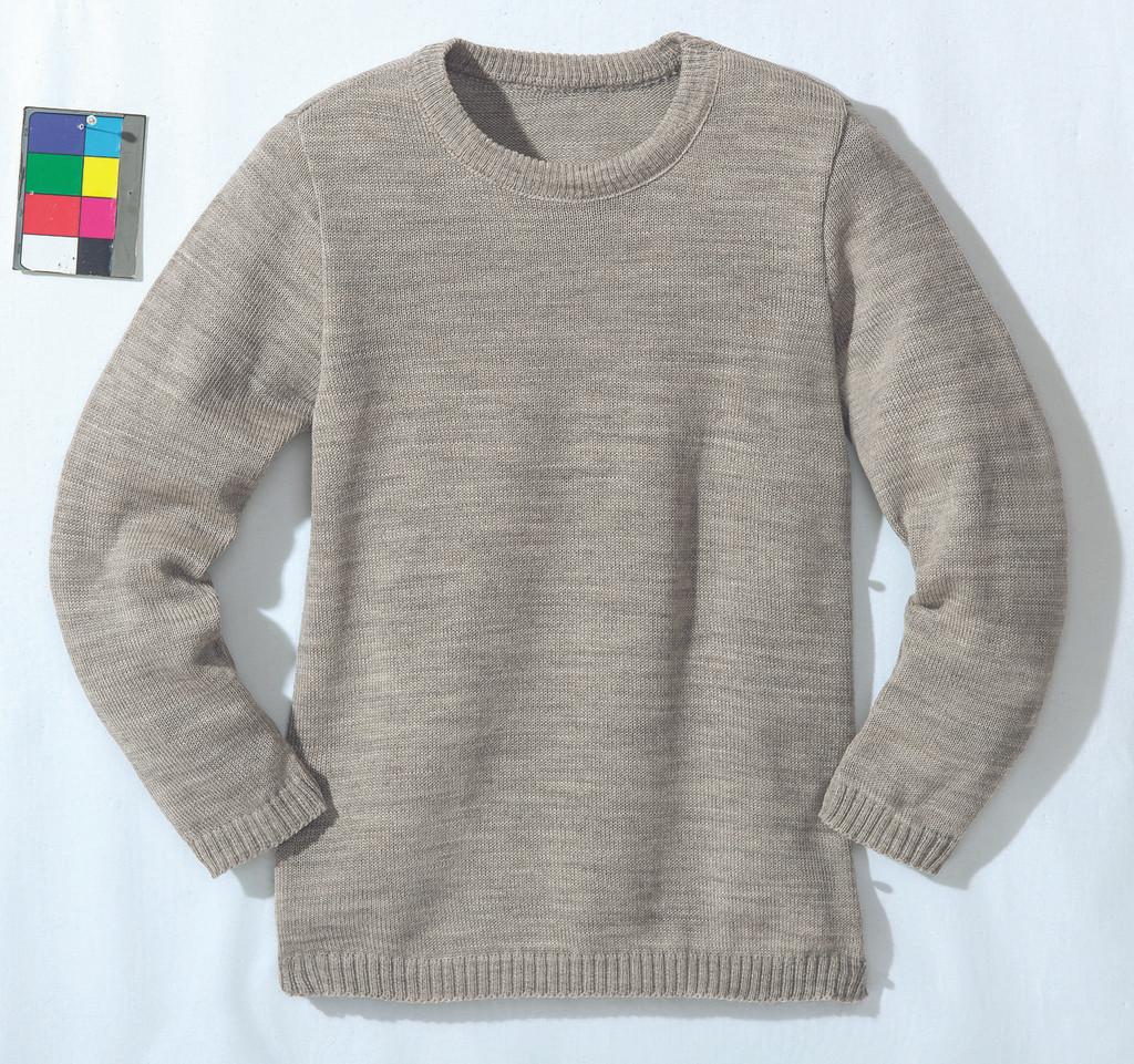 Disana Organic Wool Basic Lightweight Sweater Color: Grey