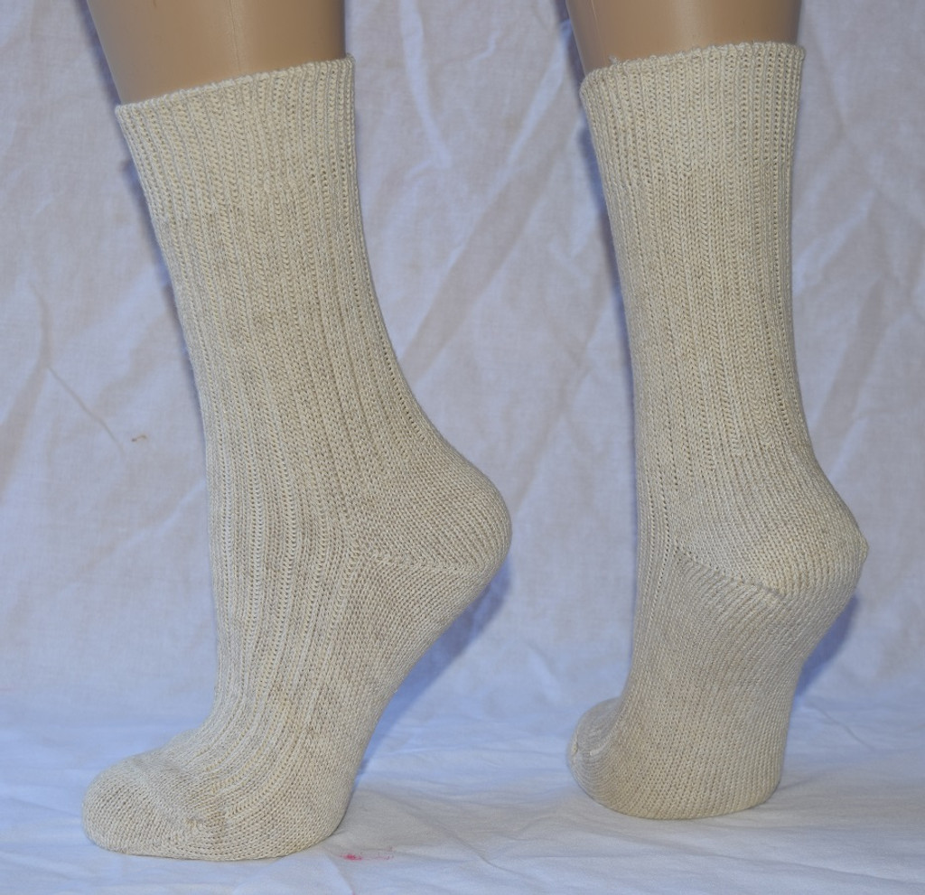 Organic Cotton/ Linen Socks for Adults | Hirsch Natur