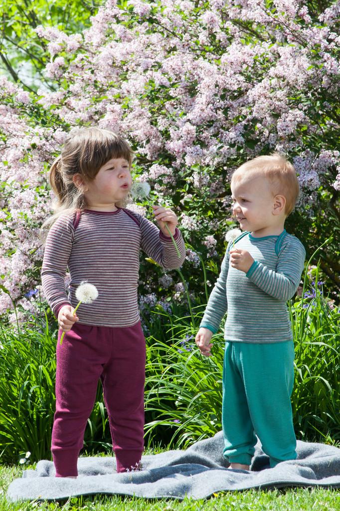Organic Merino Wool/Silk Baby Shirt | Engel