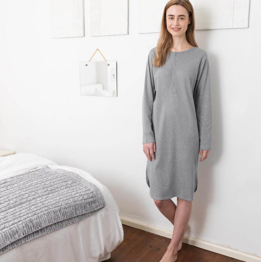Unisex Nightgown  Organic Cotton