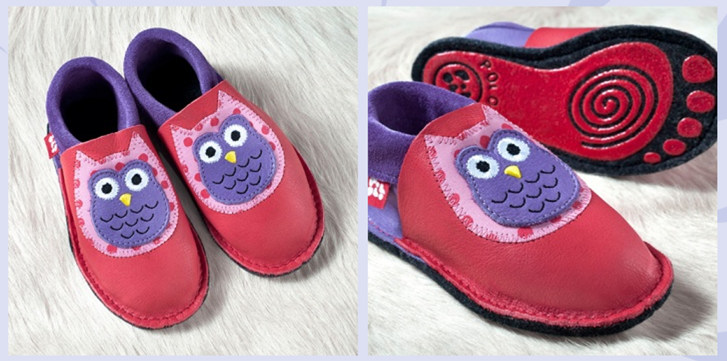 """Handmade Natural Leather Indoor Slippers 