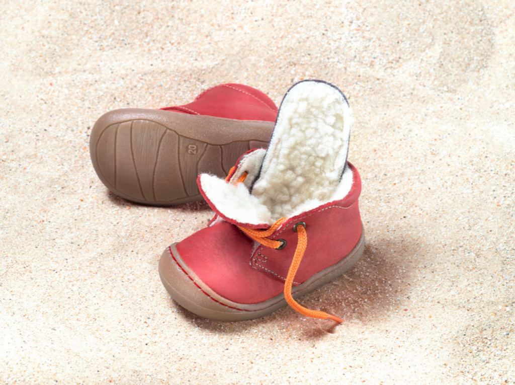 Natural Leather Shoes Color: Pepper