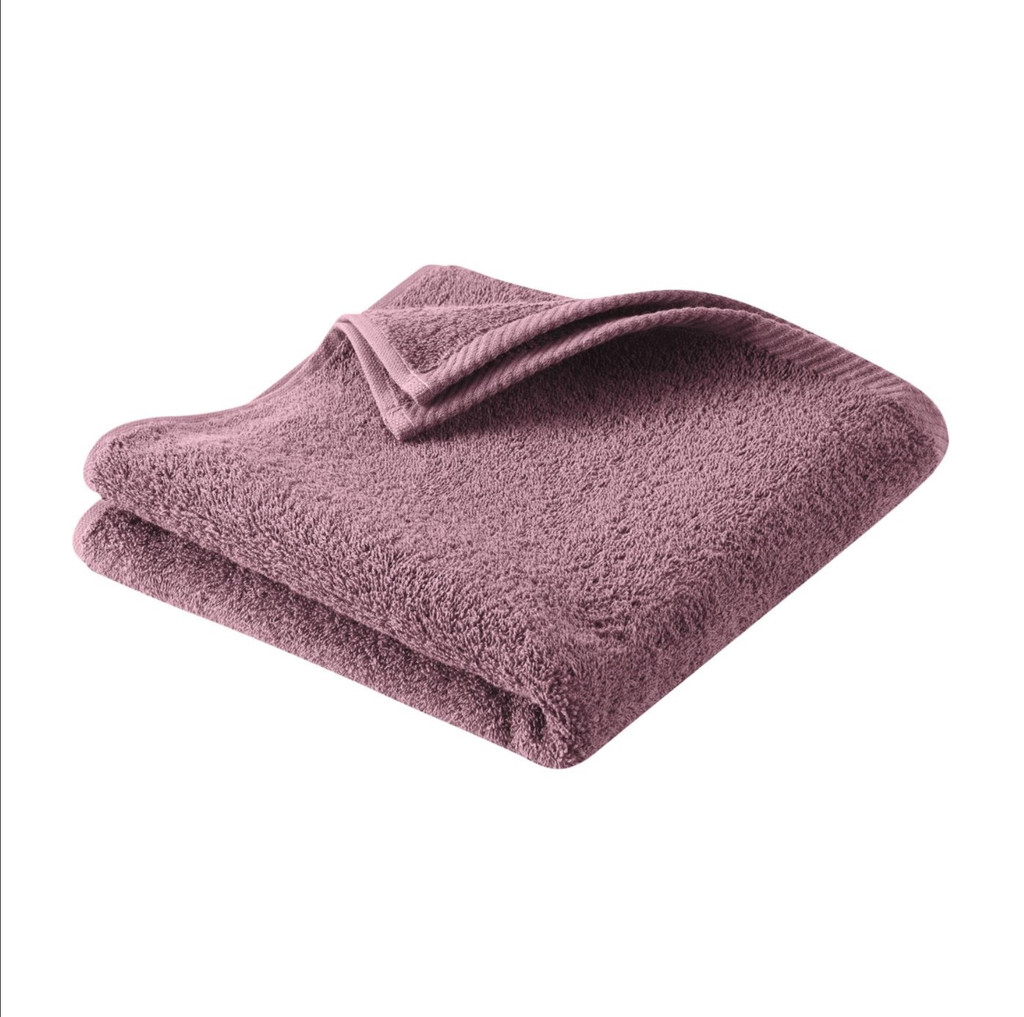 Hand Towel , Organic cotton Color: 542 light plum
