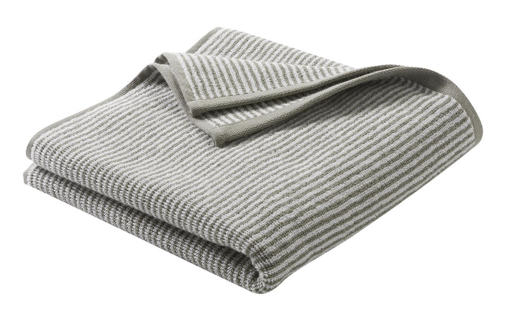 Hand Towel , Organic cotton Color: Cashmere / Natural Striped