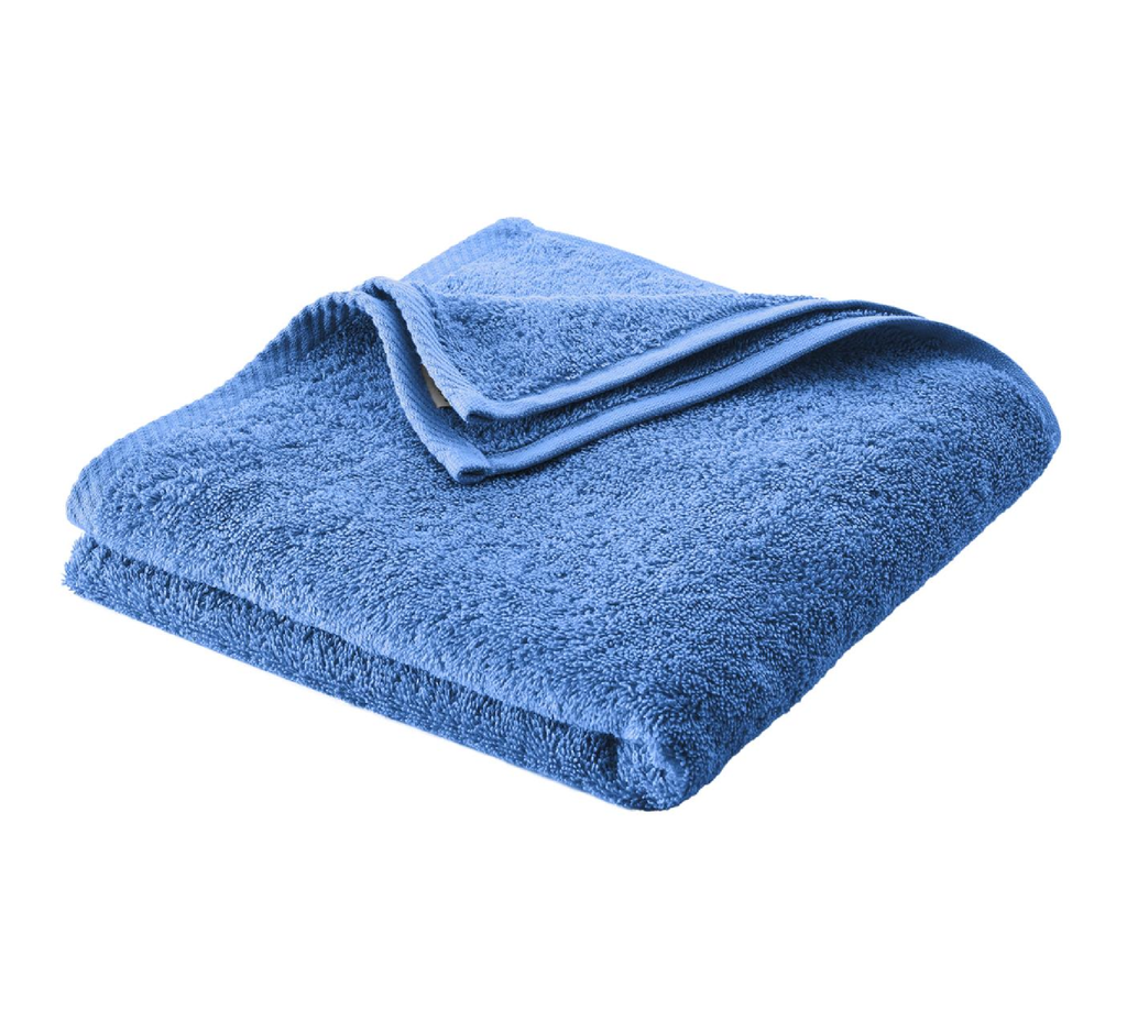 Hand Towel , Organic cotton Color: 590 azur