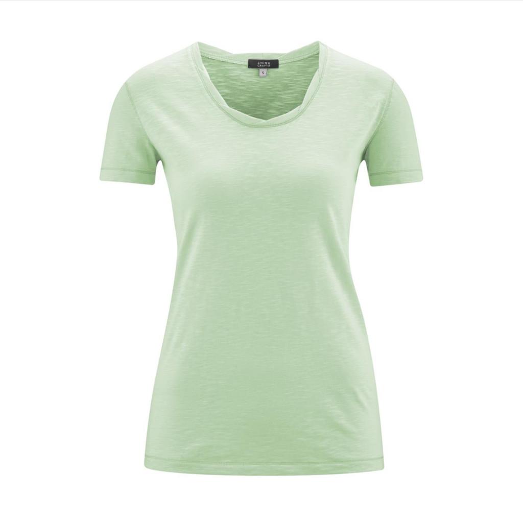 Women's Organic Cotton Shirt Color: Mint