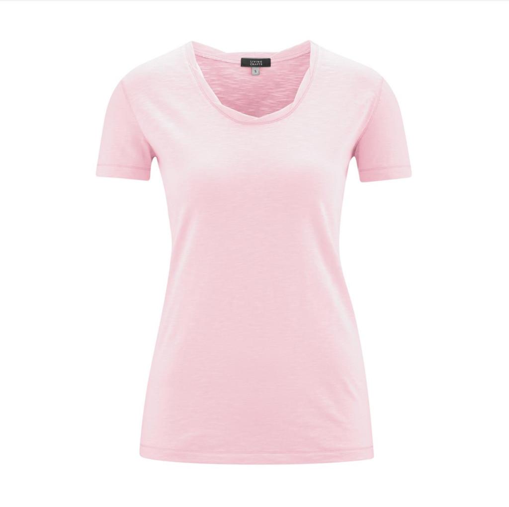 Women's Organic Cotton Shirt Color: Rose
