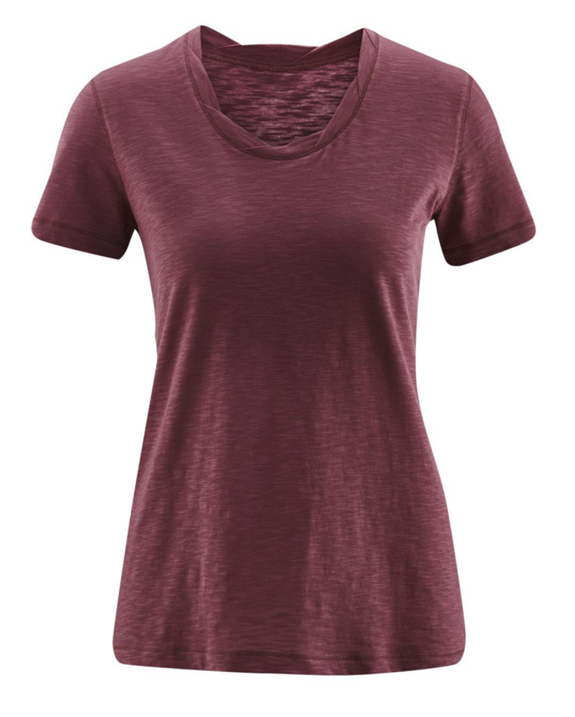 Women's Organic Cotton Shirt Color: Light Grape