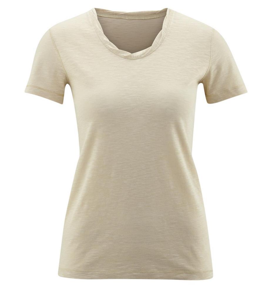 Women's Organic Cotton Shirt Color: Beach