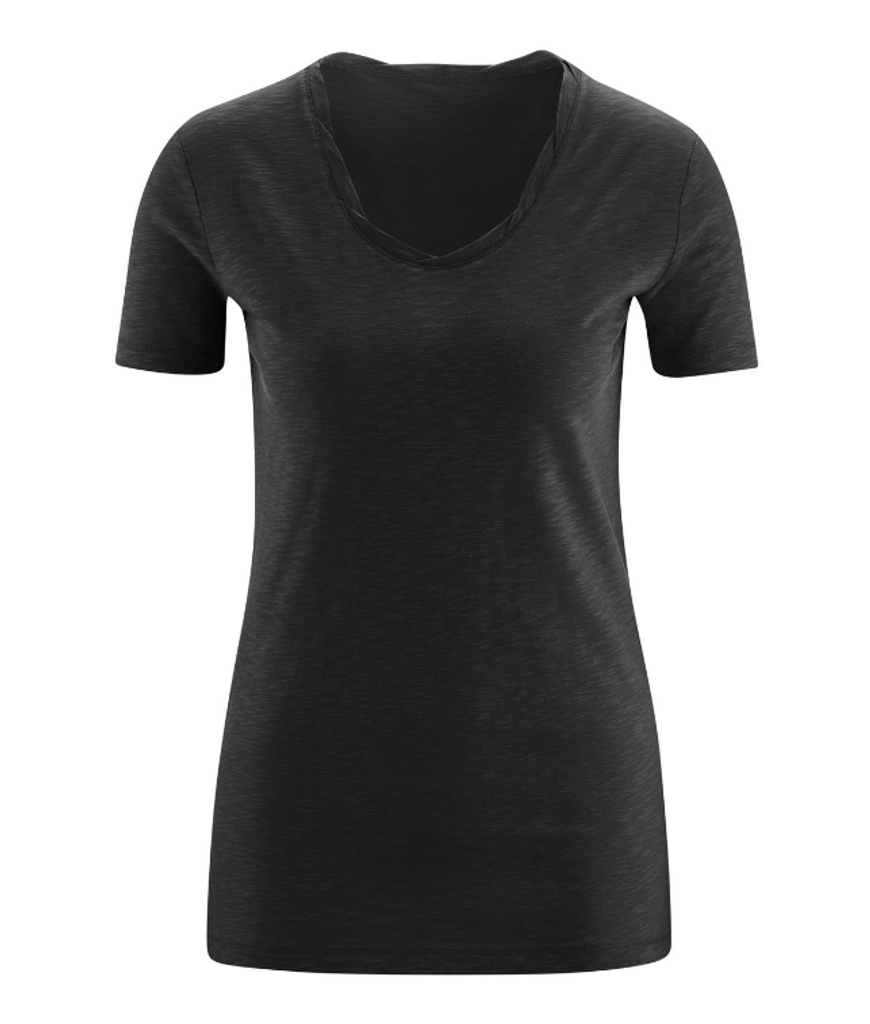 Women's Organic Cotton Shirt Color: Black