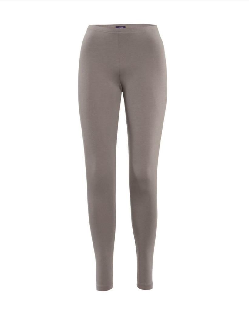 Women Organic Cotton Leggings Color: 143 taupe