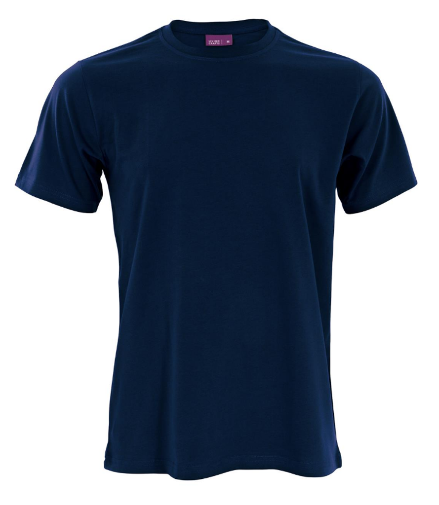 Men's Organic Cotton T-Shirt Color: Navy