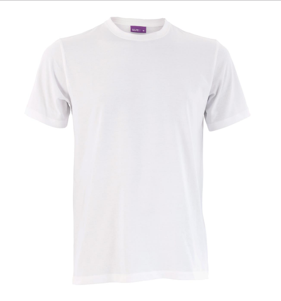Men's Organic Cotton T-Shirt Color: White