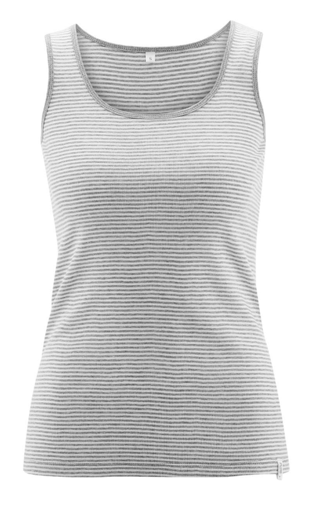 "Women's Sleeveless Shirt |  Organic Cotton ""ANNA"""