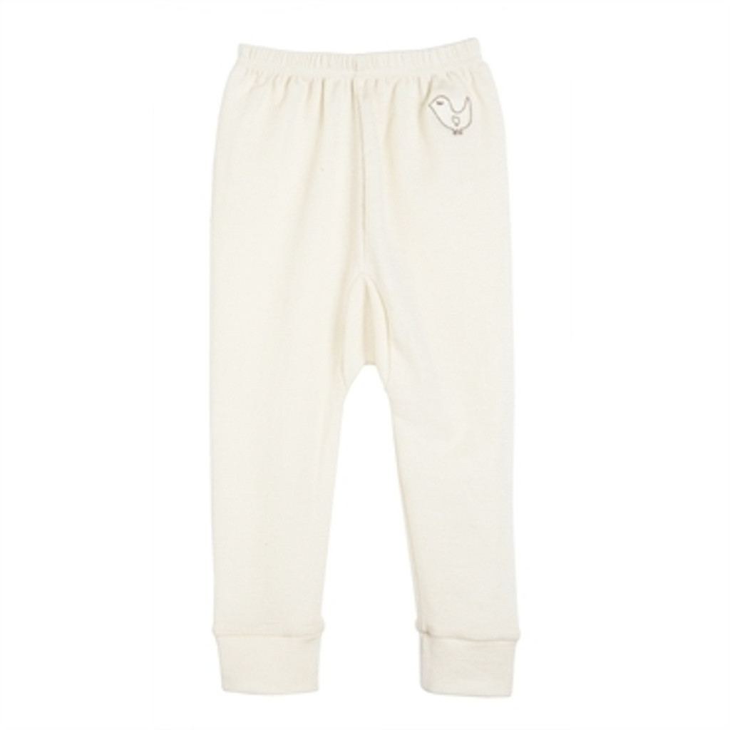 Organic Wool/ Silk Long Johns Color: natural