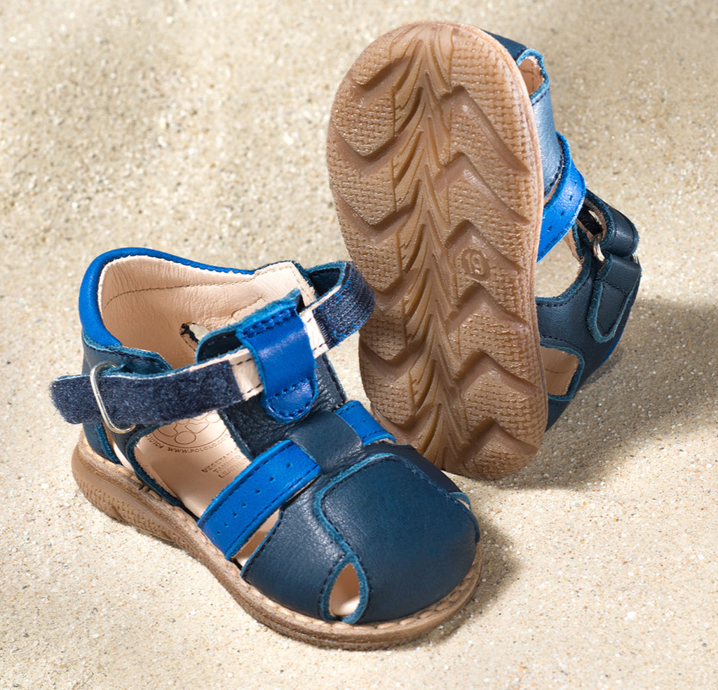 """Natural Leather Sandals 