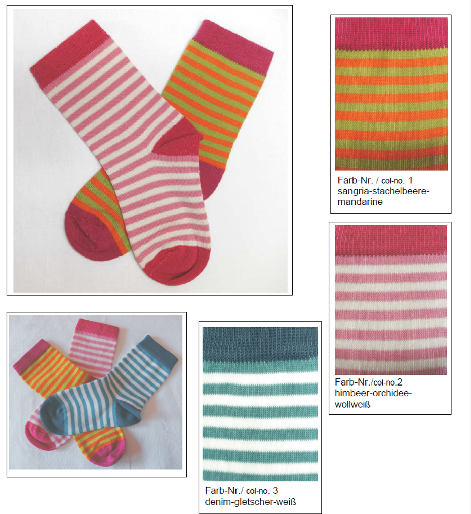 Organic Cotton Kids' Socks | Grodo 12764