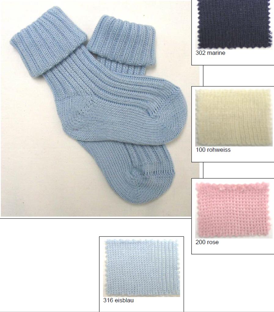 Organic Cotton Baby Socks | Grodo 12258